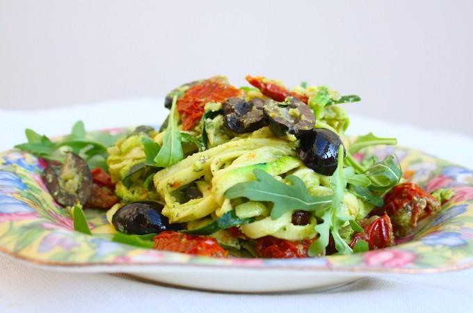 Courgette spaghetti 01