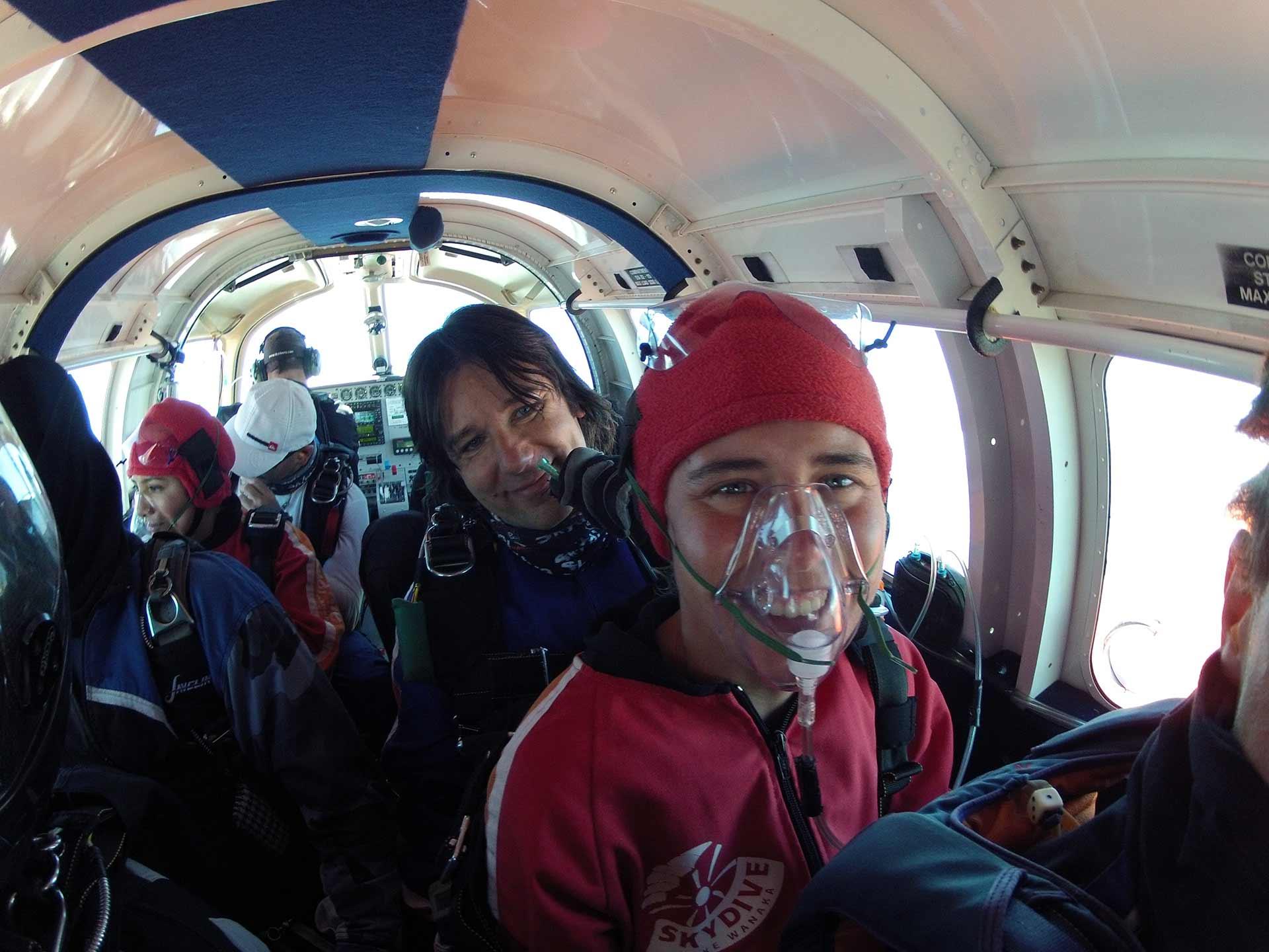 Parachutespringen in Nieuw Zeeland