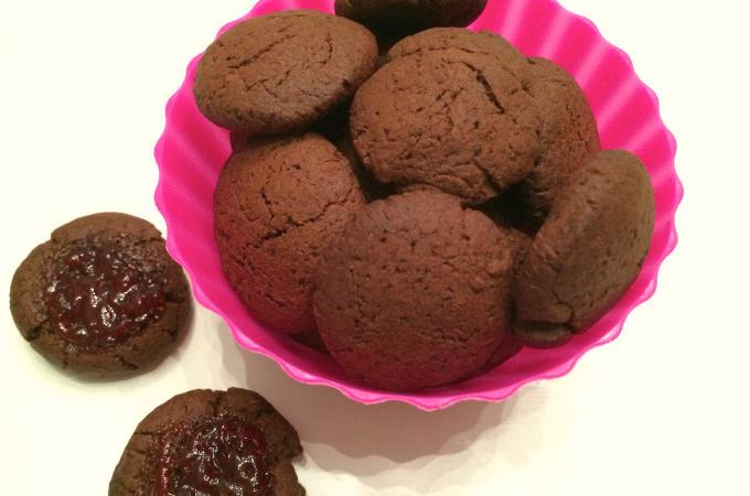 Chocolade speltkoekjes
