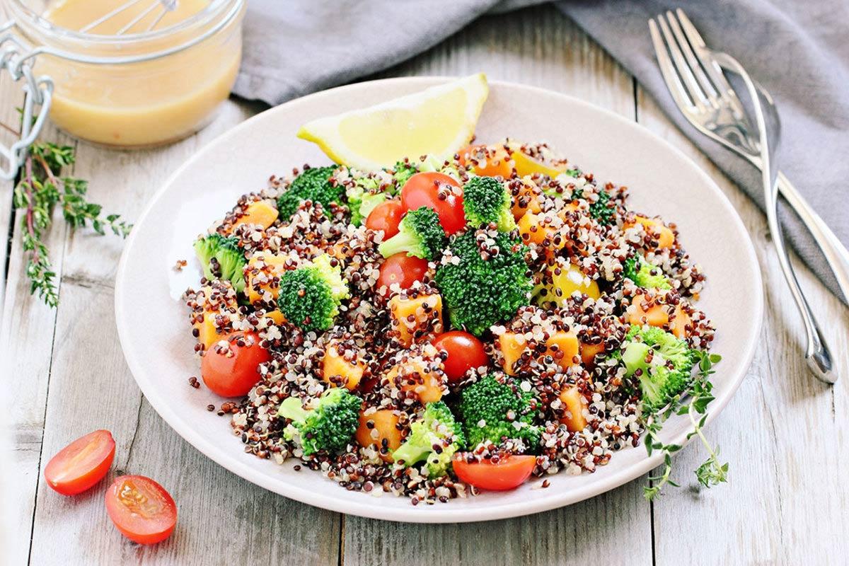 Quinoa roerbak