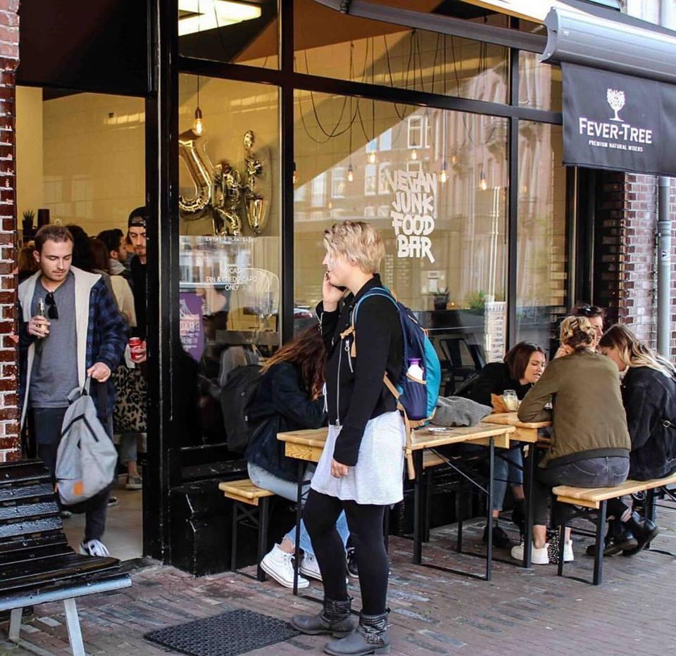 Vegan Junkfood Bar Amsterdam