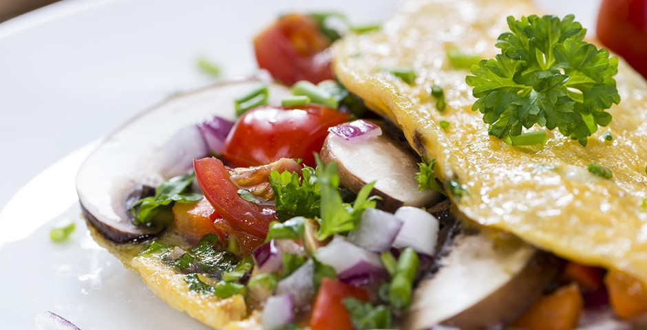 Uitgelicht-Groente-Omelet