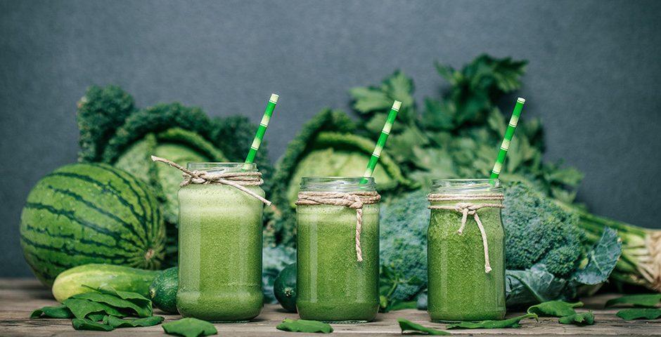 groene ontbijt smoothie