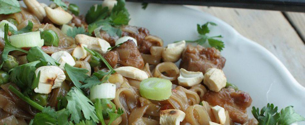 Heerlijk Thais: Pad Thai met kip