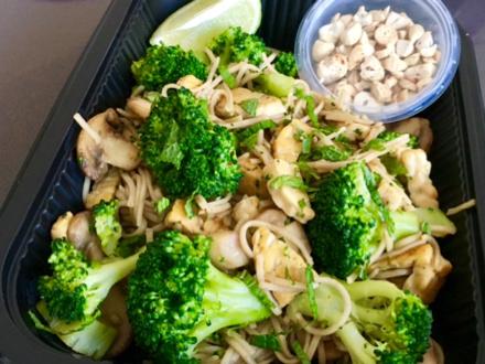 Soba noodles vega