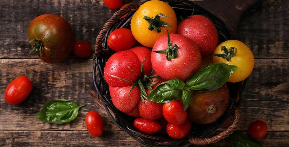 Gek op tomaten