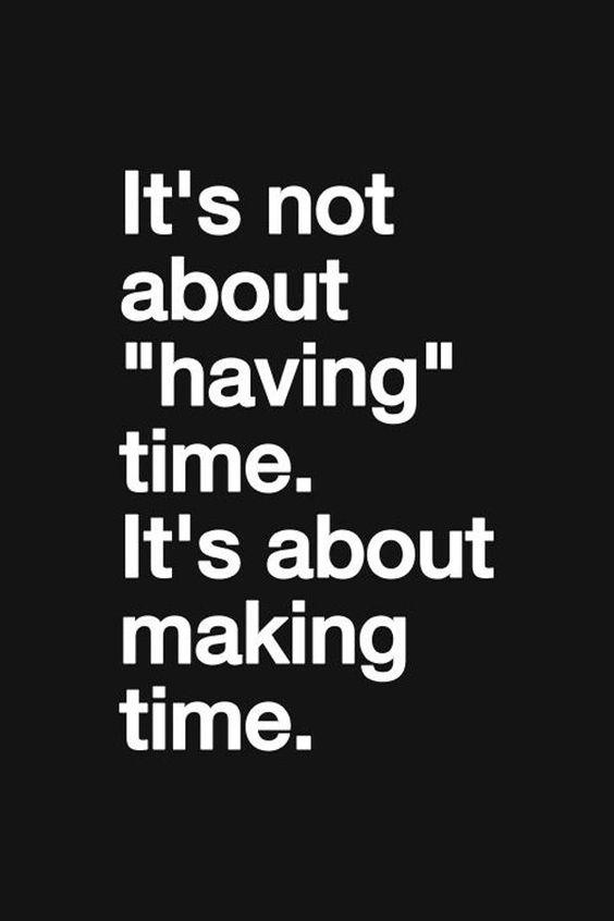 Ik heb geen tijd