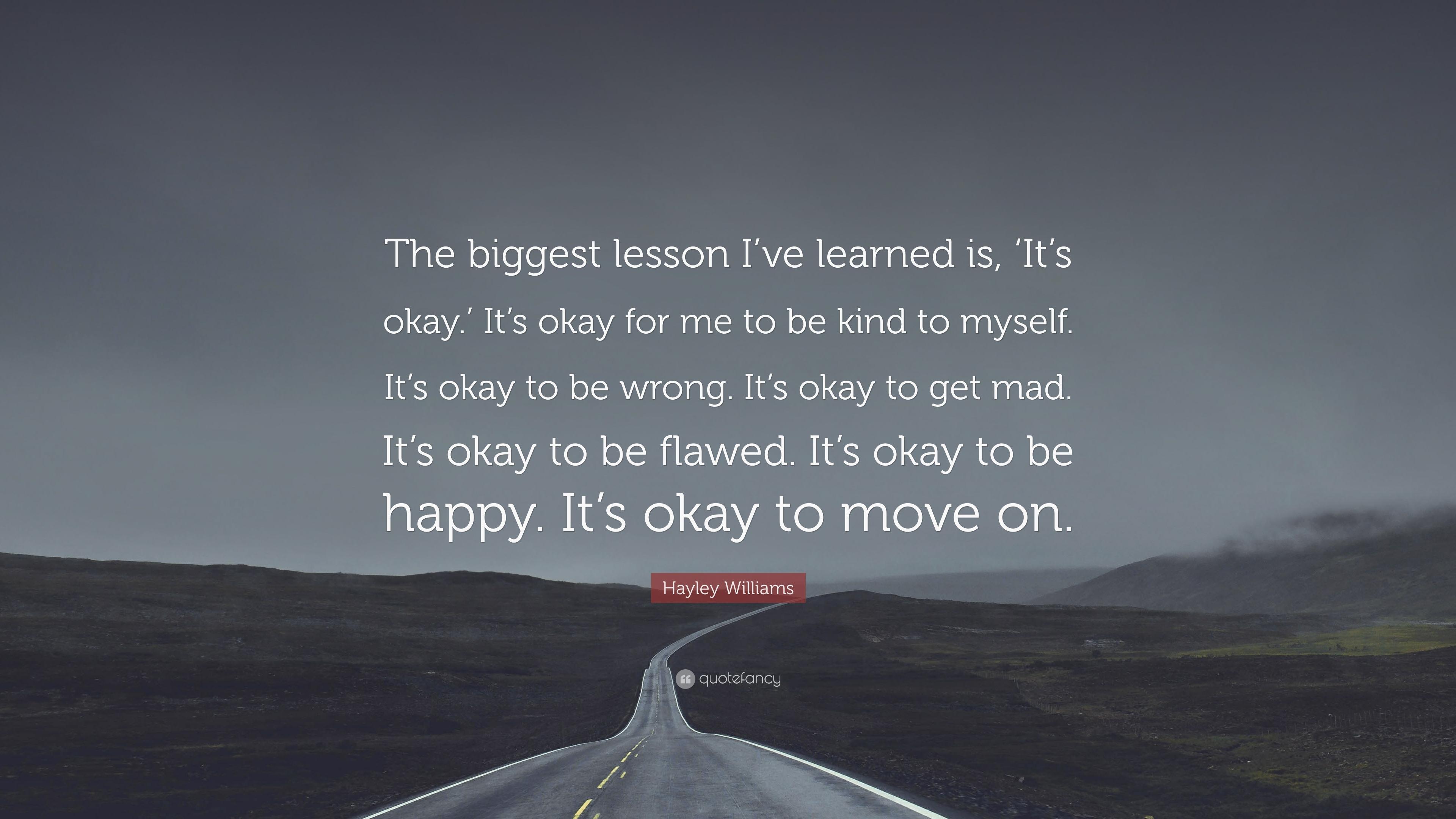 Het is oké
